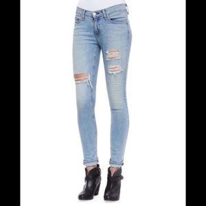 Rag & Bone Convoy distressed skinny jeans